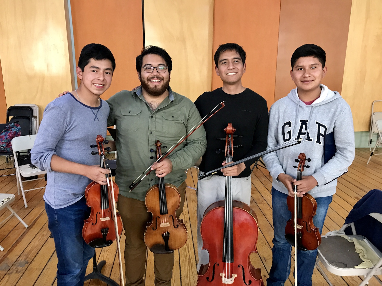 String Quartet Esperanza Azteca